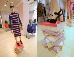 """TOPSHOP, """"All Stacked Up...."""", creative by Visual Citi Inc., pinned by Ton van der Veer"""