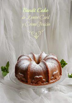 Mandil & Perejil: BUNDT CAKE DE LEMON CURD Y CRÈME FRAÎCHE # Silikom...