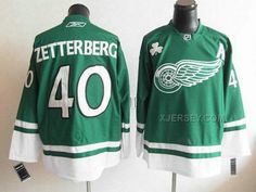 http://www.xjersey.com/red-wings-40-zetterberg-green-a-patch-jerseys.html RED WINGS 40 ZETTERBERG GREEN A PATCH JERSEYS Only $46.00 , Free Shipping!