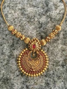 Traditional Indian Antique Jewellery For Women - ArtsyCraftsyDad - Antique jewelry indian - Gold Bangles Design, Gold Earrings Designs, Gold Jewellery Design, Gold Designs, Vintage Jewellery, Necklace Designs, Art Nouveau, Art Deco, Gold Jewelry Simple