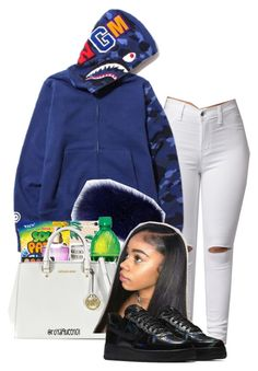 """""""Untitled #114"""" by colourmejayy ❤ liked on Polyvore featuring NIKE"""