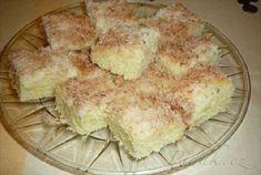 Picture of Recept - Šlehačkové řezy rafaelo - hrnečkové 20 Min, Apple Pie, French Toast, Food And Drink, Cheese, Baking, Breakfast, Cake, Sweet