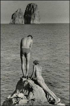 Swimming Carpi style 1950's