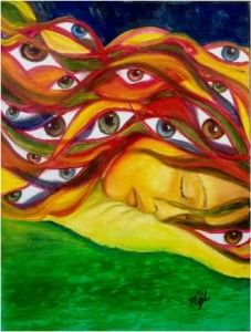 Bringing Forth Understanding: ME/CFS and Fibromyalgia Artists Showcased in Powerful Exhibit - Health Rising Chronic Fatigue Syndrome, Chronic Illness, Photos Of Eyes, Fibromyalgia, New Art, Bring It On, Pictures, Exhibit, Painting