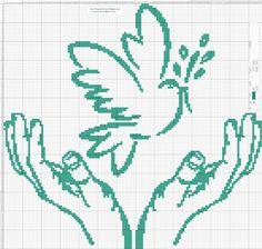 Gráficos en patrones punto de crúz para bordar gratis.