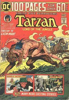 Tarzan por Joe Kubert