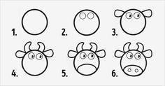 10 рисунков из кружков. Легко рисовать с детьми!