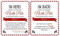 Elf on the Shelf Ideas for Arrival: 10 Free Printables Free 'Elf on a Shelf' Printables - Super Busy Mum Elf On The Shelf, Elf On Shelf Letter, Elf Letters, Santa Letter, The Elf, Elf On Shelf Notes, Welcome Back Letter, Welcome Letters, Printable Letters