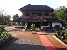 Traditional Kerala style house!