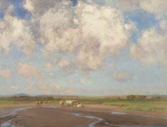 'Near Kintallen, Benderloch, (nr Oban) Argyll' by John Campbell Mitchell RSA (Campbelltown, 1862-1922).