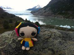 María en la #Patagonia. #Viaje #Diseño y #ArtesaníasMexicanas #kawaii #MariasINC