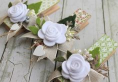 scrapbooking idea for altered clothespin ♥