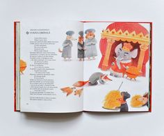 Romanian Fables Book - Livia Coloji #fables #romania #childrensbook #illustration #liviacoloji