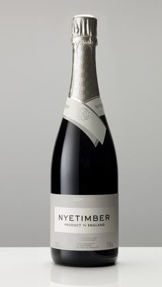 English sparkling wine estate Nyetimber in West Sussex has released its first single vineyard sparkler onto the market, priced at a bottle. Wine Bottle Design, Wine Label Design, Wine Bottle Labels, Expensive Champagne, English Wine, Wine Names, Wine Glass Holder, Wine Packaging, Gifts For Wine Lovers