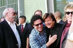 Steve Perry, Neal Schon and Ross Vallery