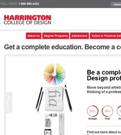 Harrington College of Design is located in Chicago, IL