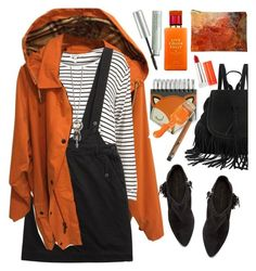 """""""Autumn coat"""" by grozdana-v ❤ liked on Polyvore featuring moda, River Island, Marc by Marc Jacobs, Rebecca Minkoff, Origins, Maybelline, Retrò, Kate Spade i autumncoat"""