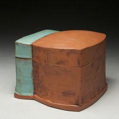 box, Marty Fielding Pottery