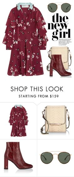"""Aug 4th (tfp) 4097"" by boxthoughts ❤ liked on Polyvore featuring Valentino, Kendall + Kylie, Yves Saint Laurent, Ray-Ban and tfp"
