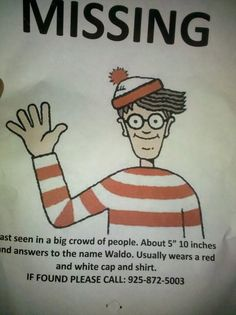 missing waldo
