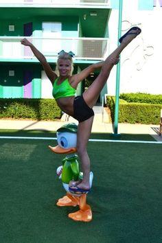 cute, scale, cheer, stunt, cheerleader, cheerleading