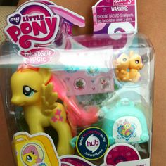 My first My Little Pony Friendship is Magic toy! I got it about a month ago.