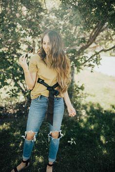 A Tee with a Twist - Dani Marie Blog