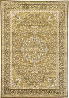 Brown 6' 8 x 9' 8 Tabriz Design Rug | Area Rugs | eSaleRugs