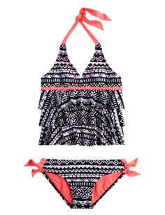 Tribal Tankini Swimsuit | Girls Swimsuits Swimwear | Shop Justice
