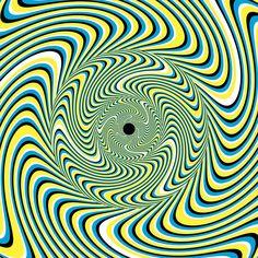 Ilusão ótica - Algumas das mais antigas ilusões de ótica usam cores e formas simples para enganar o nosso senso de escala e perspectiva.