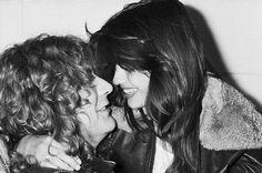 Robert Plant & Audrey Hamilton ♥