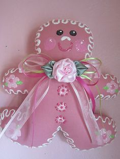 Pink Gingerbread