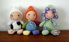 Rice stuffed dolls (Free - English)