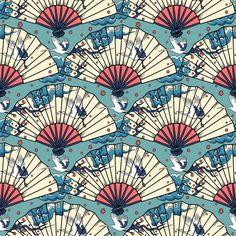 pattern, illustration, fan, art,