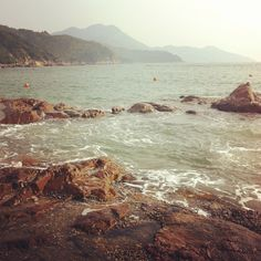 Pretty amazing beach in Hong Kong