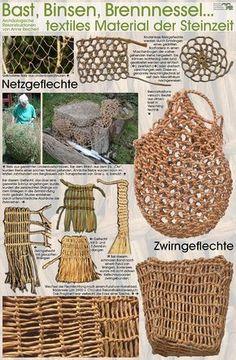 net bag, bilum stone age arts