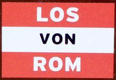 Aufkleber, gefunden in Südtirol