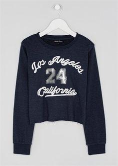 22dafbf05414dc Girls Candy Couture Sweatshirt (9-16yrs) Matalan, Print Design, Kids Outfits