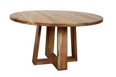 wood pedestal table base plans