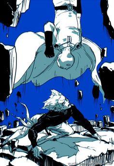 One Punch Man - Saitama VS Garou