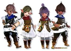 The Two Most Popular Races in FFXIV