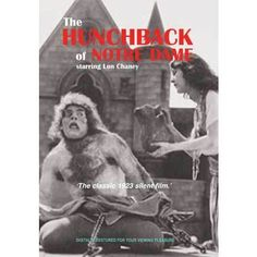 An absolute CLASSIC in film making. A silent movie with typed narrative. Victor Hugo's Hunchback of Notre Dame 92 minutes B/W Starring Lon Chaney. Notre Dame Cathedral a spiritual haven in a brutal ag