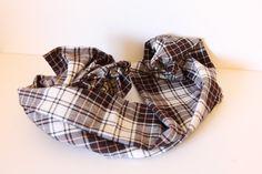 one yard plaid scarf - see kate sew