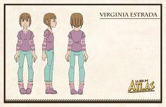El bonito diseño de la pijama de Virginia también es obra de Martín Arrieta.