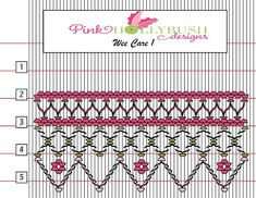 A free smocking plate to use for Wee Care, preemies or other charitable sewing. Smocking Plates, Smocking Patterns, Embroidery Patterns Free, Dress Sewing Patterns, Hand Embroidery Designs, Skirt Patterns, Coat Patterns, Blouse Patterns, Punto Smok