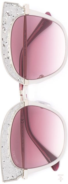 JIMMY CHOO cat eye sunglasses