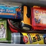 Winter Emergency Car Kit :: HoosierHomemade.com