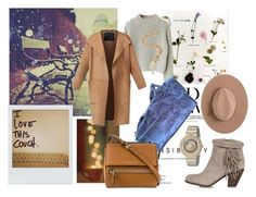 """""""el otoño."""" by nataal ❤ liked on Polyvore featuring Polaroid, Burberry, J Brand, Sam Edelman, Givenchy, Calypso Private Label, Versace and Emilio Pucci"""