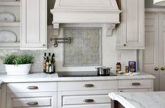 Kitchen Backsplash Ideas With White Cabinets The Best For Design Pictures  0. Küche Deko