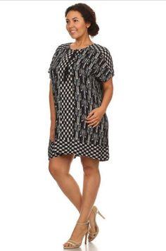 LOLA DRESS- Plus Size